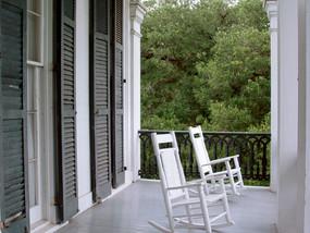 An Open Seat on the Veranda