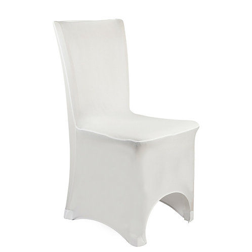 Spandex Chair Cover - White
