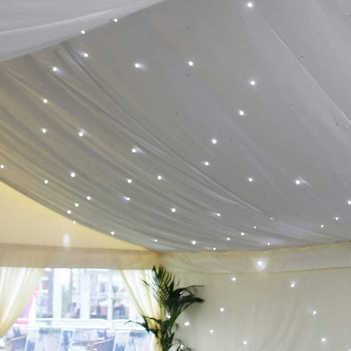 Ivory Starlight Marquee Lining