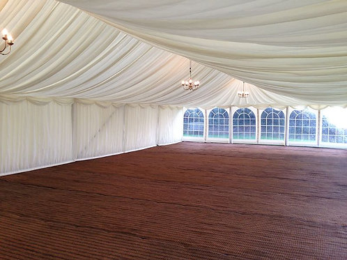 Ivory Marquee Lining