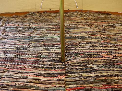 Circular Rag Rug Mat