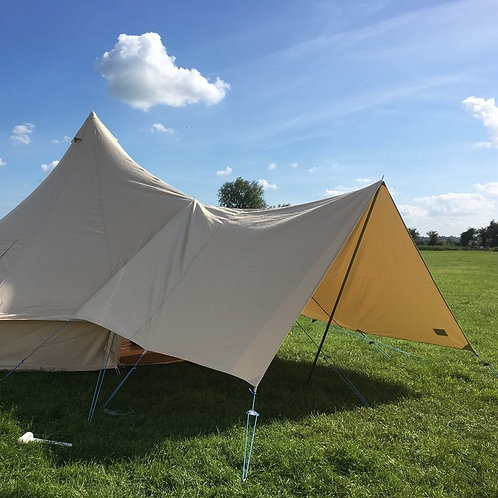 Canvas Bell Tent Awning