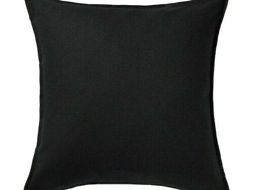 50x50cm Cushion - Black