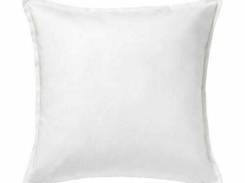 50x50cm Cushion - White