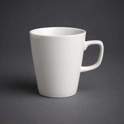 White Latte Mug
