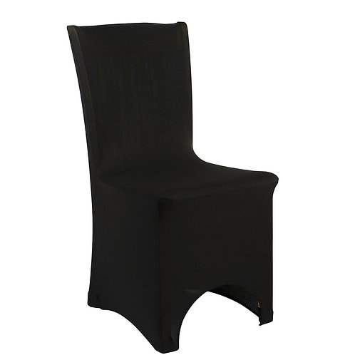 Spandex Chair Cover - Black