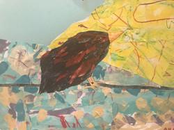 細かい作業♫鳥さんです。