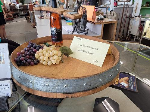Lazy Suzan Handmade From Wine Barrel V#13