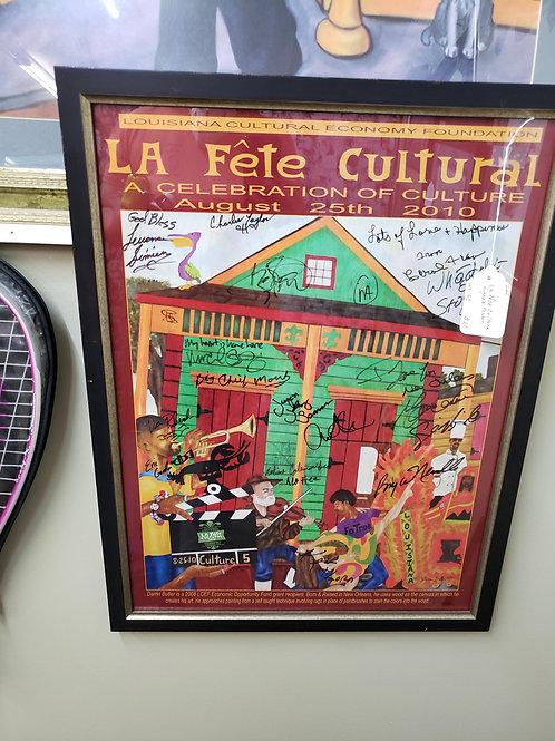 Signed La Fete Cultural Poster V#220