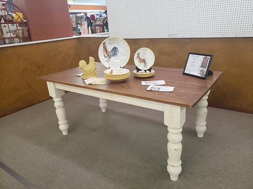 Custom Built Farm Table V#518