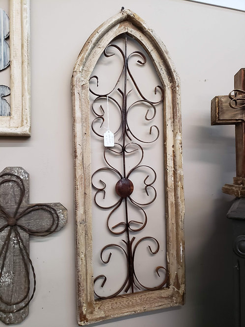 Decor Wood &Metal Arch V#660