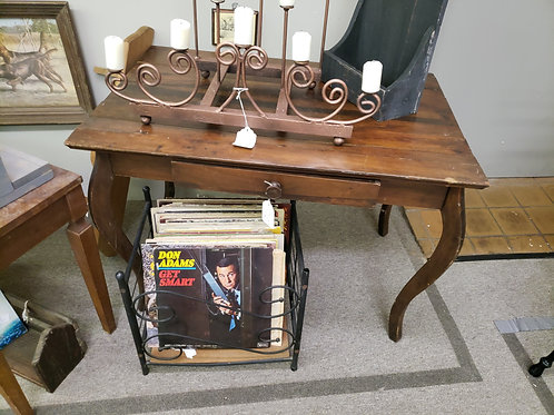 Solid Wood Table w/ Drawer V#715