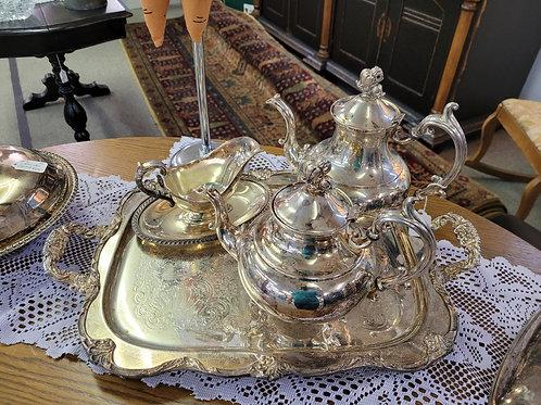 Coffee Tea Set w/ Tray V#31