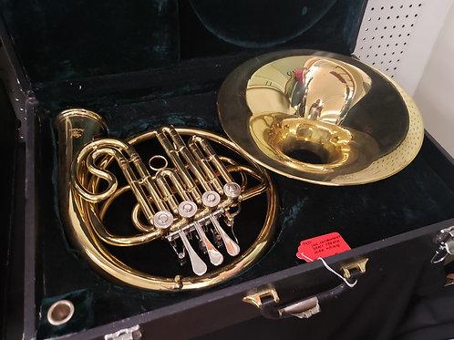 Brass French Horn W/ Case V#920