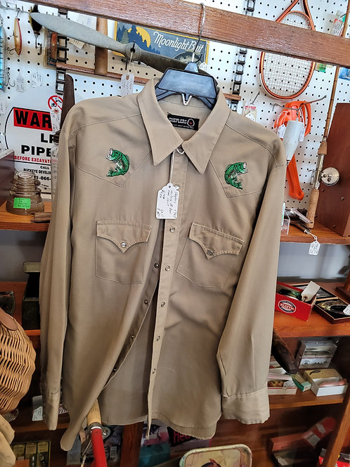 Sheplers Western Bass Shirt V#967