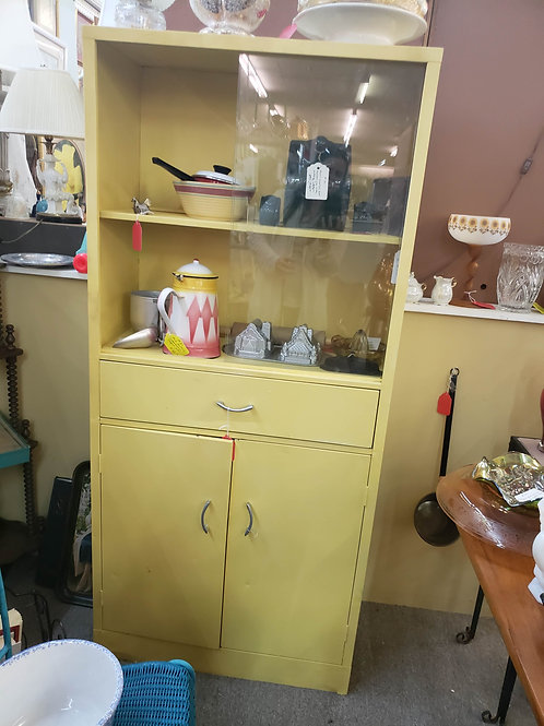 Yellow Metal Cabinet V#30