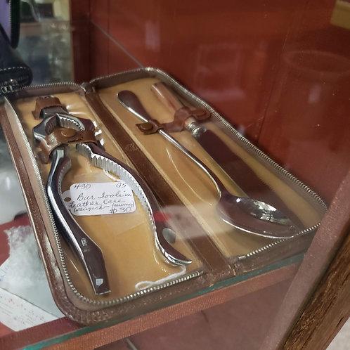 Bar Tool Set w/ Leather Case V#430