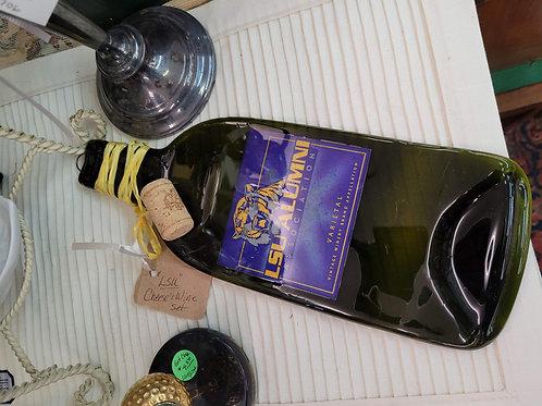 LSU Cheese and Wine Set V#1706