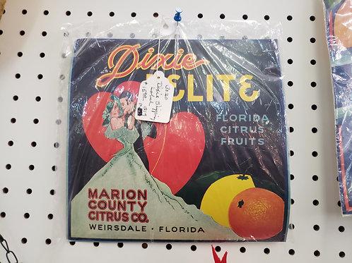 Dixie Delite Label V#3028
