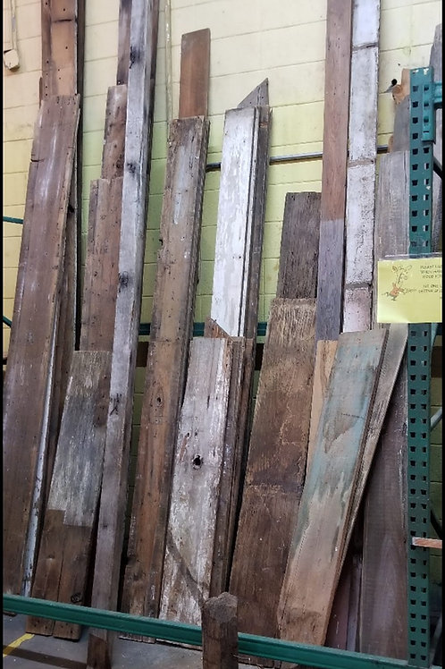 Reclaimed Wood up to 10ft V#13