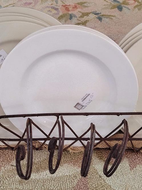 White Pasta Plate V#913