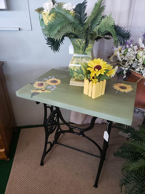 Table w/ Sewing Machine Base V#1222
