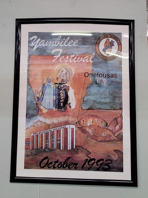 1993 Yambilee Festival Poster V#762
