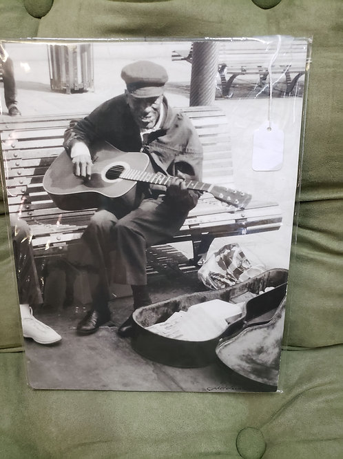 Blues Man 11x14 Photo V#430