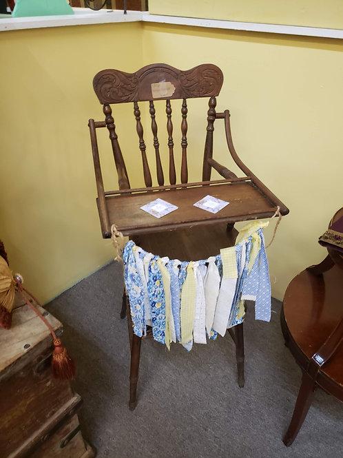 Antique High Chair V#965