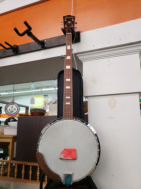 Norma BA-1530 5 string Banjo w/ Case V#920