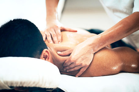 massage for neck and shoulder pain, tension, anxiey