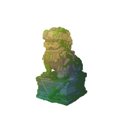 Lion Dog Statue