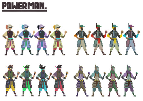 Powerman Concept Art