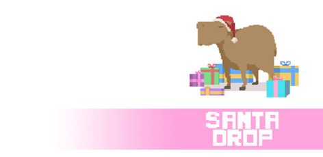 Santa Drop Visual Development