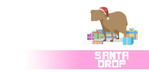 Santa Drop Visual Development