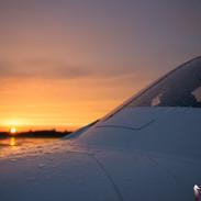 Saturday Sunset EBLG