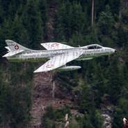 "Hawker Hunter Mk 58 - HB-RVS ""Papyrus Hunter"""