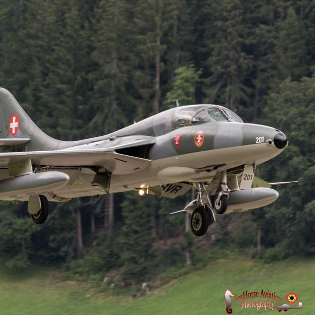 Hawker Hunter TMk68 - HB-RVR