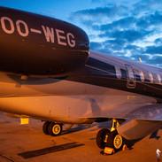 Bombardier Challenger 350 / OO-WEG