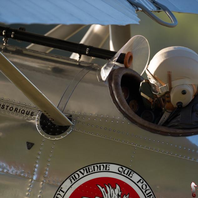 Cockpit view of Dewoitine D-26 - HB-RAI
