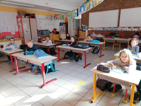 Reprise de l'école... à l'école