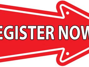Online Registrations now open!