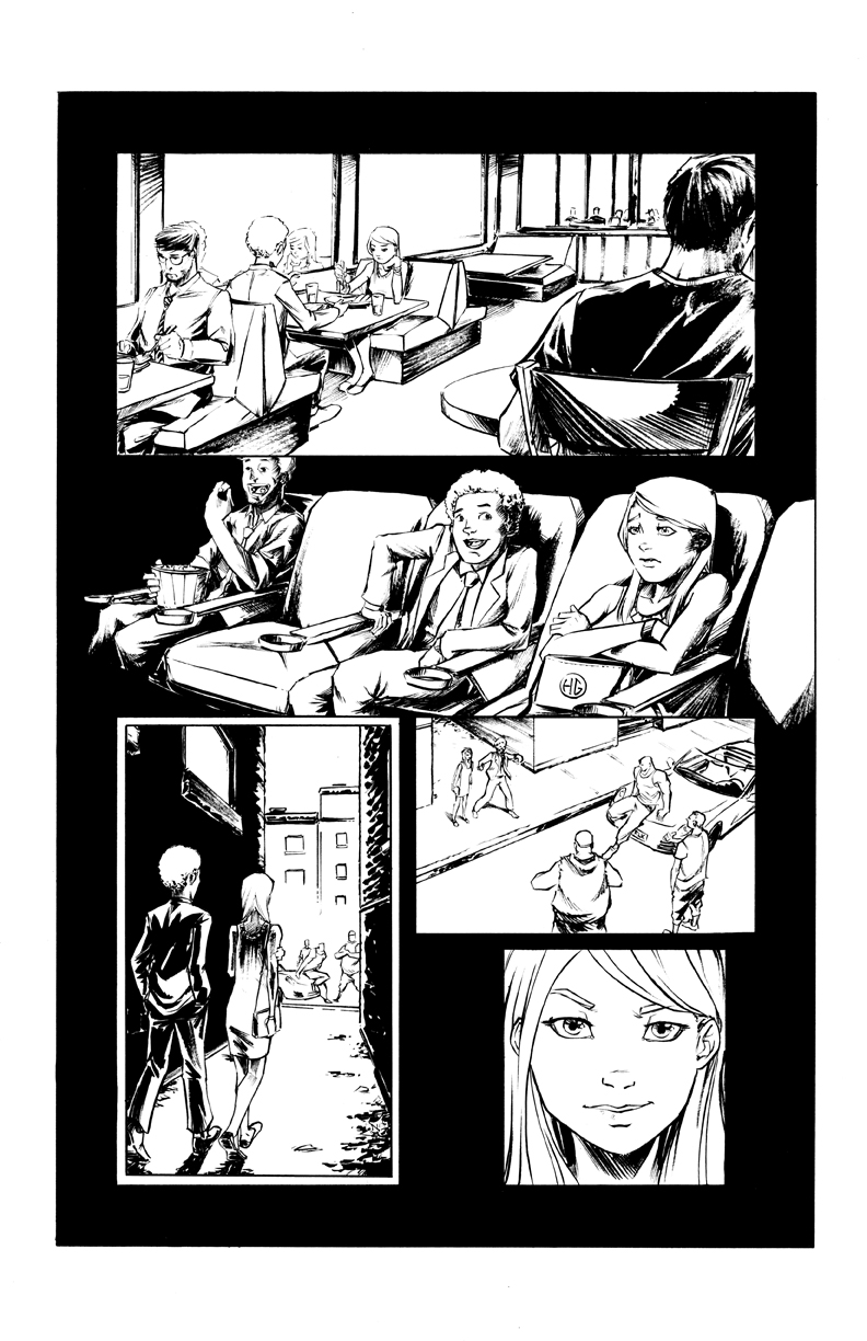 Hit Girl Page 01