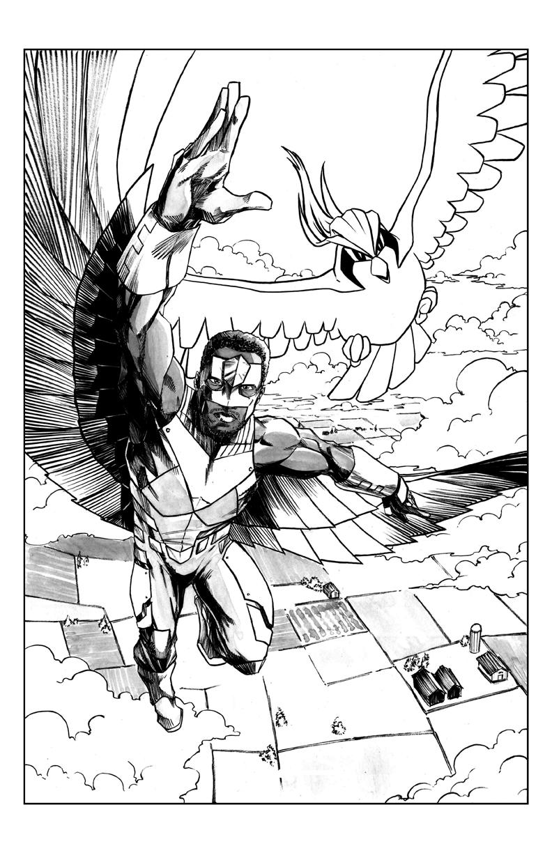 Falcon X Pigeot