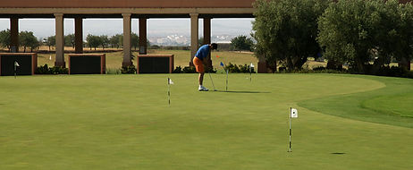 golf on Hacienda del Alamo