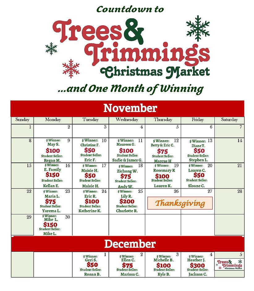 T&T Calendar Raffle Web Update with Winn