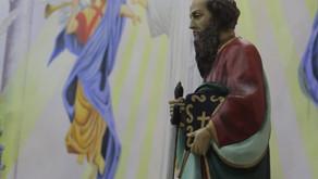 3° Dia da novena em honra ao Padroeiro São Paulo Apóstolo.