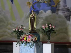 3° dia da novena em honra a Santa Teresinha do menino Jesus