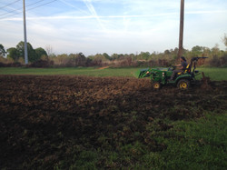 more tractor work