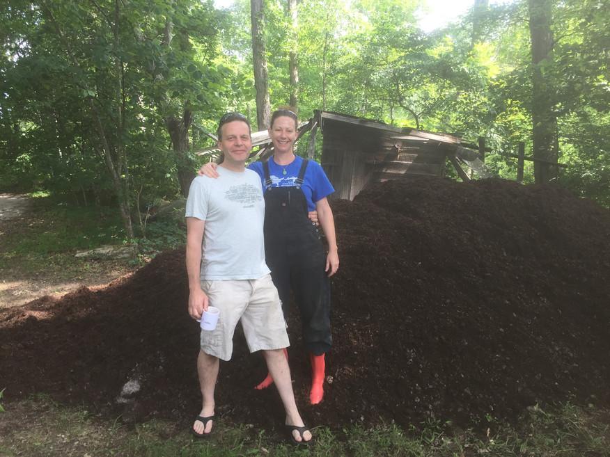 Compost arrived